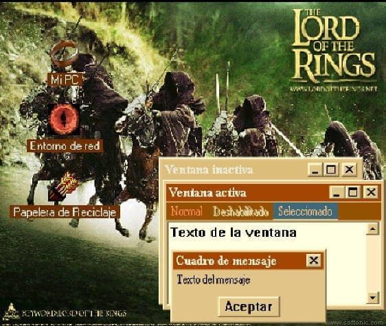 Lord of The Rings Theme's + Desktop Themes