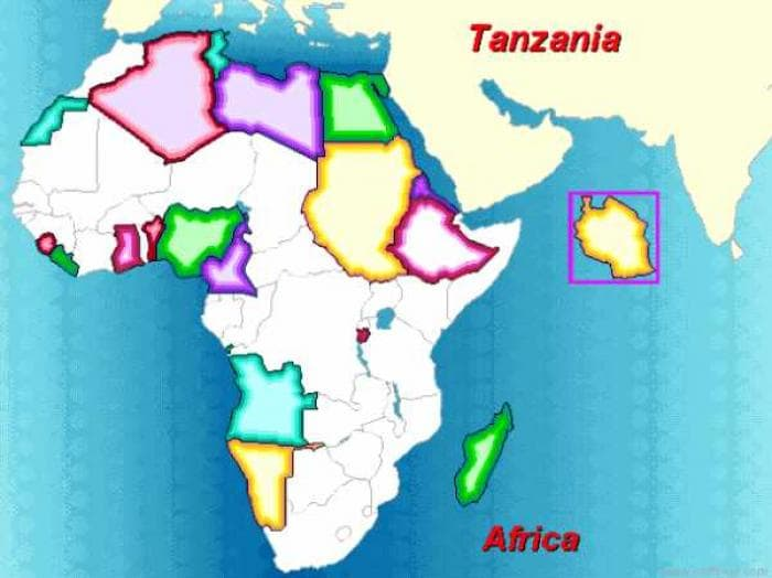 Africa Map Puzzle