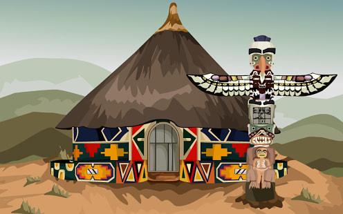 Escape Tribal Hut