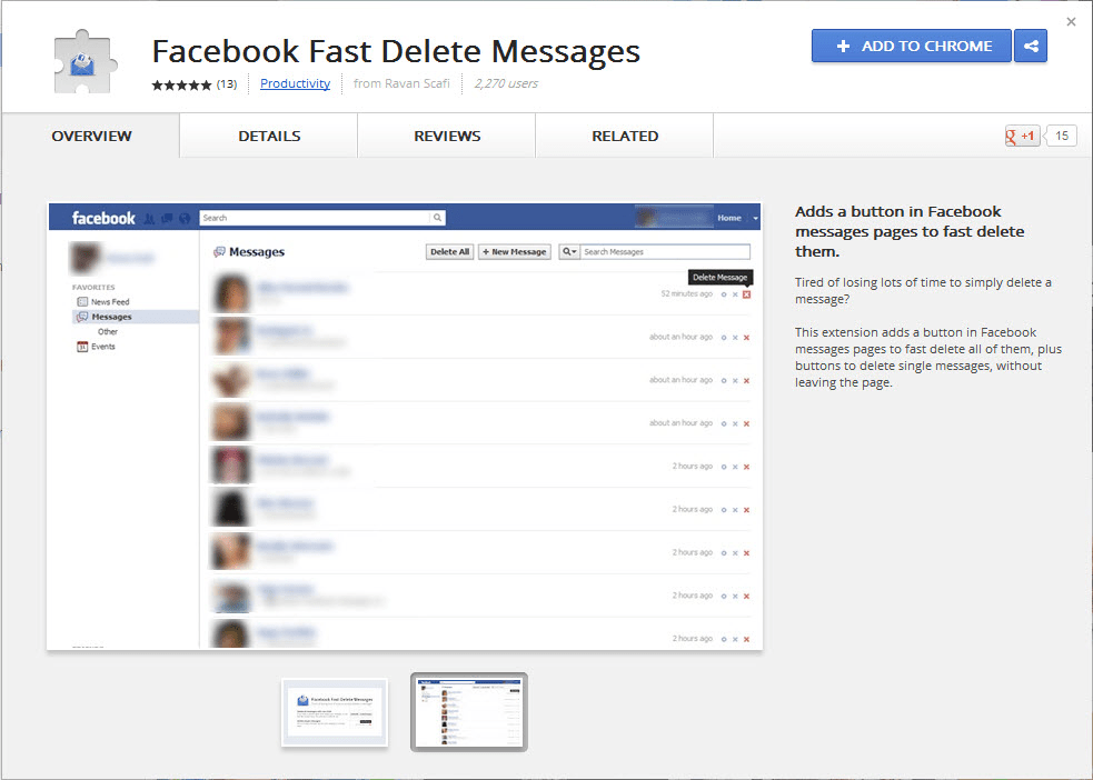 how to delete facebook account fast