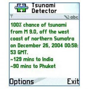 Indian Ocean Tsunami Detector