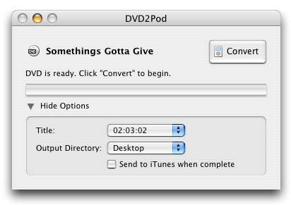DVD2Pod