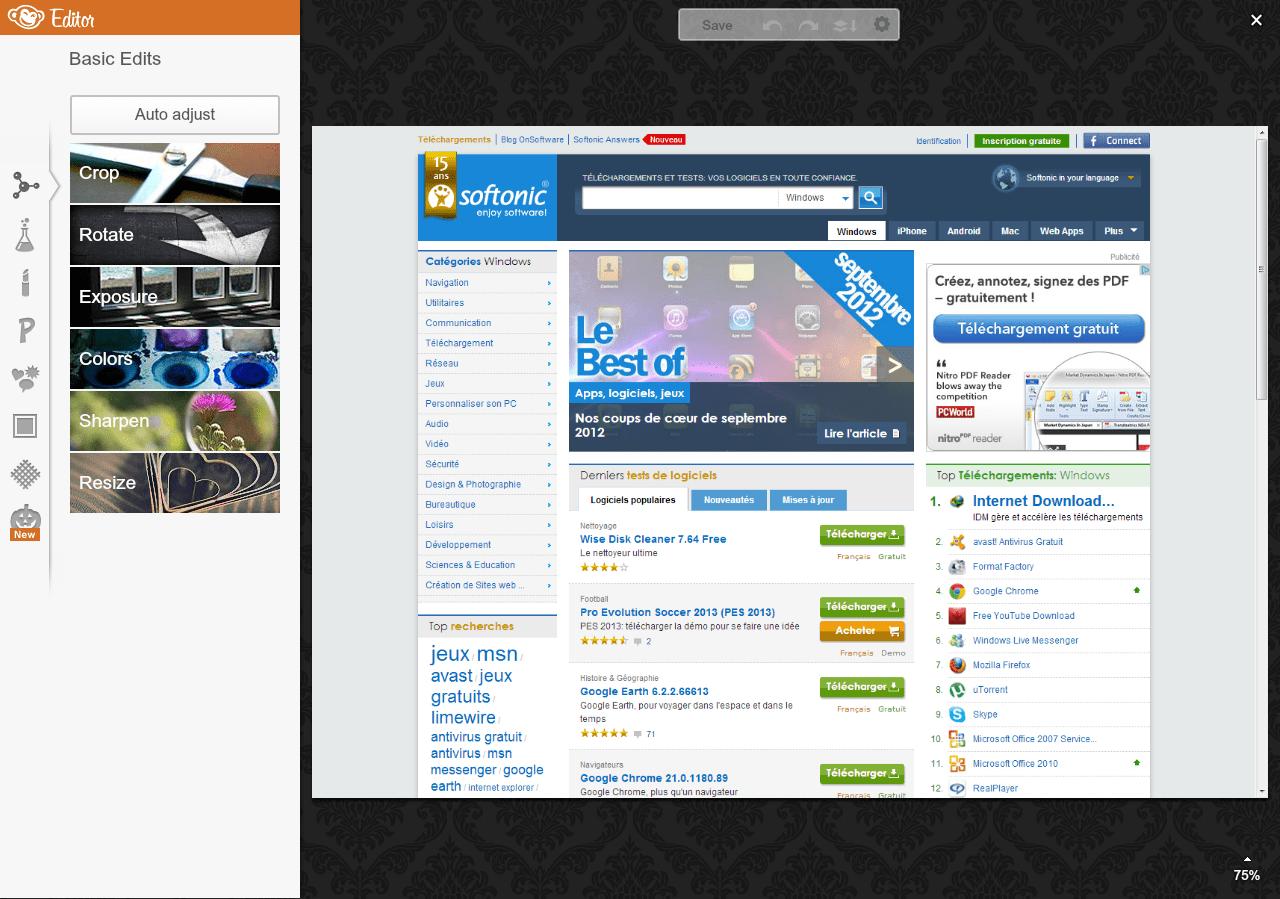 PicMonkey Extension