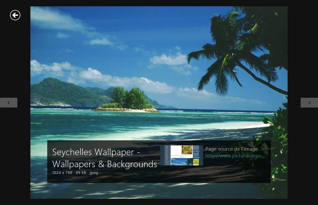 Bing pour Windows 10
