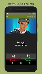 Prank Call From MattyB