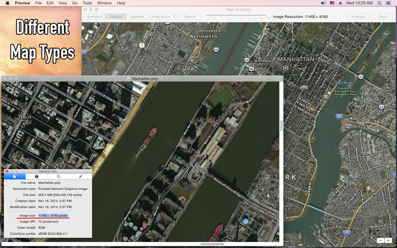 Map Snapshot - Download Large Detailled Offline Maps