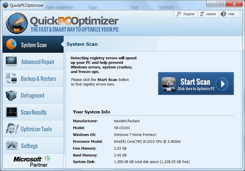 QuickPCOptimizer