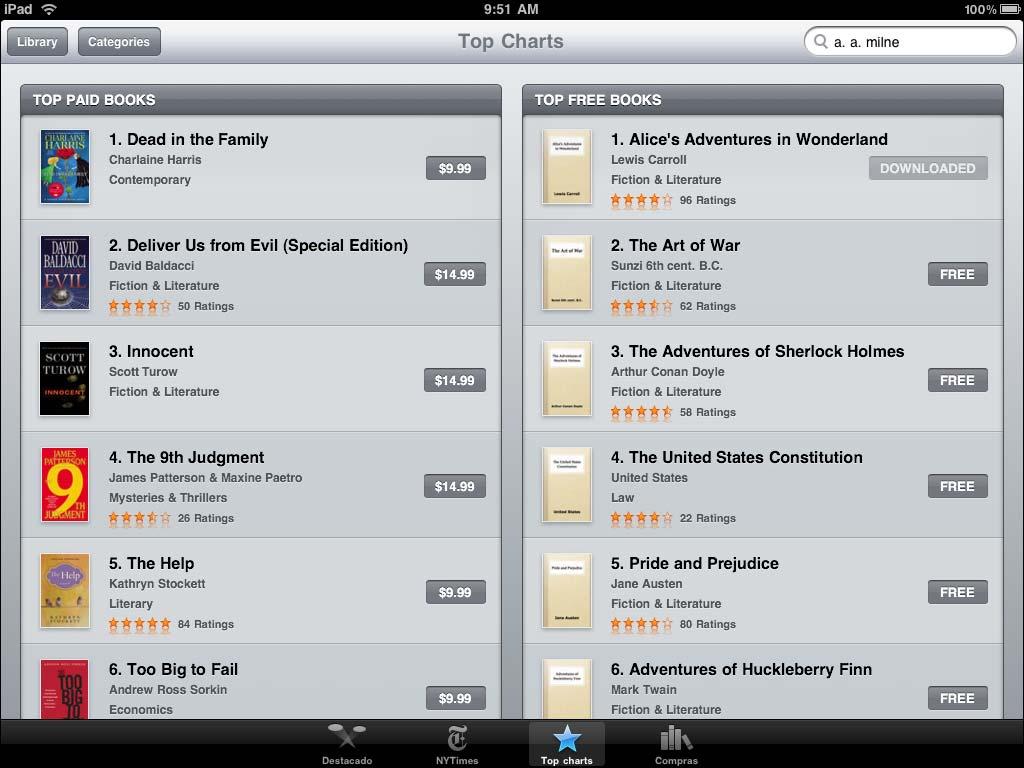 iBooks für iPad