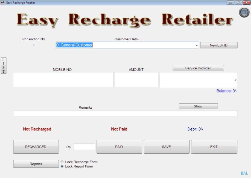CIMSOB Easy Recharge Retailer