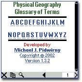 Physical Geography Glossary