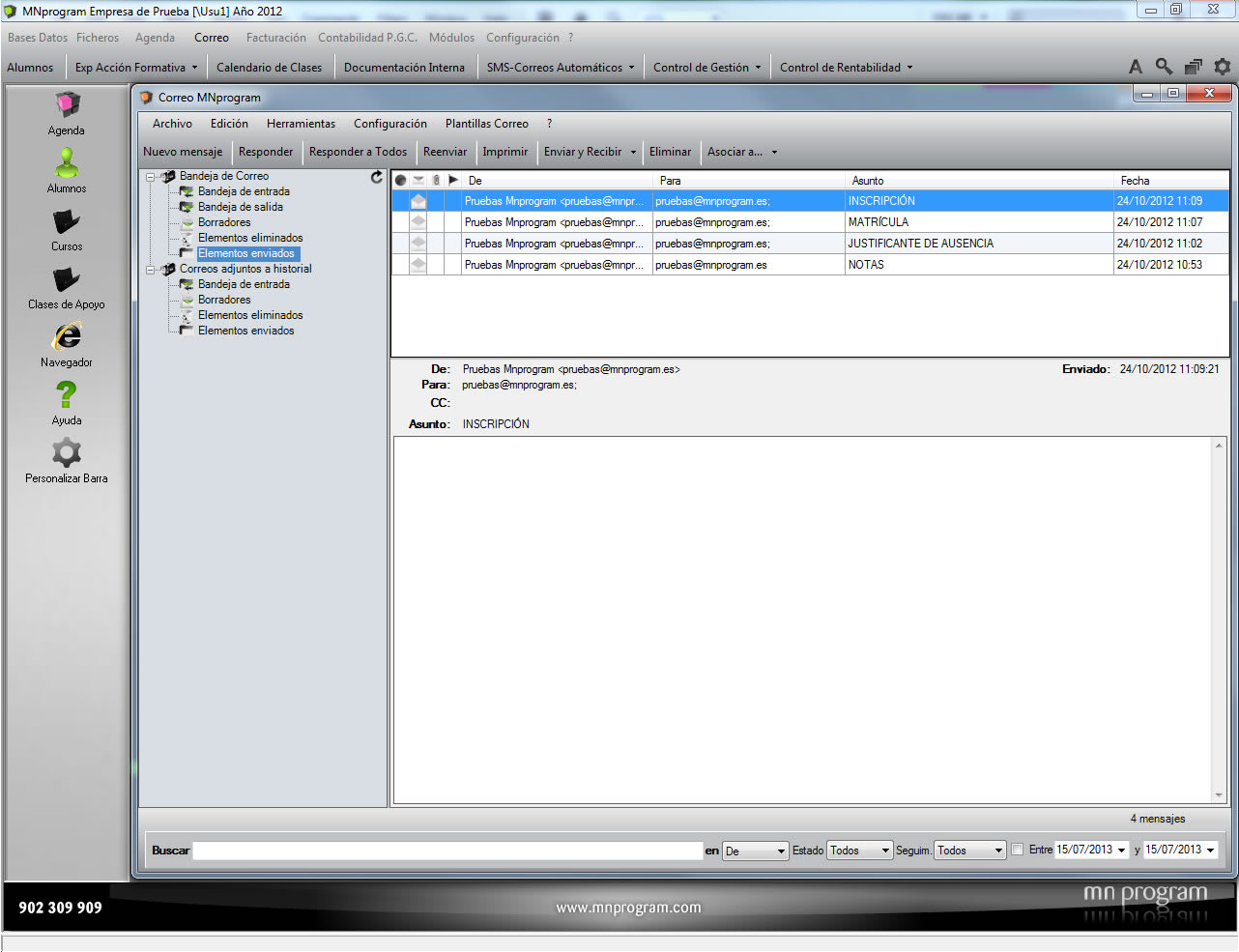 MNprogram Software Formación