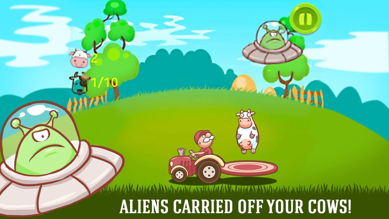 Aliens VS Farmer - UFO Invasion