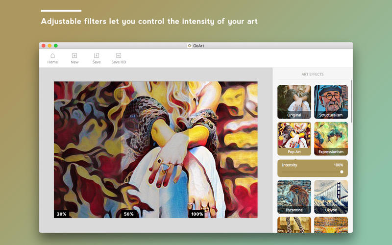 GoArt - Art photo maker and photo editor