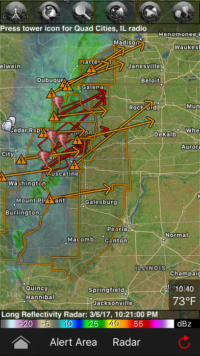 Tornadospy tornado maps warnings and alerts for iphone download softonic review gumiabroncs Gallery