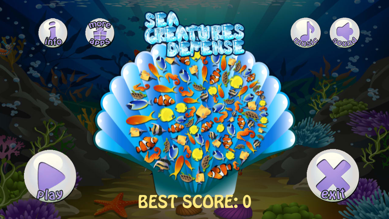 Sea Creatures Defense