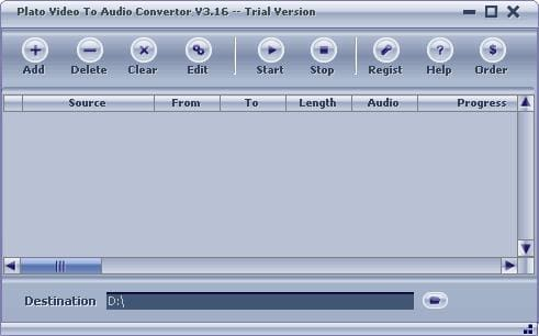 Plato Video To Audio Convertor