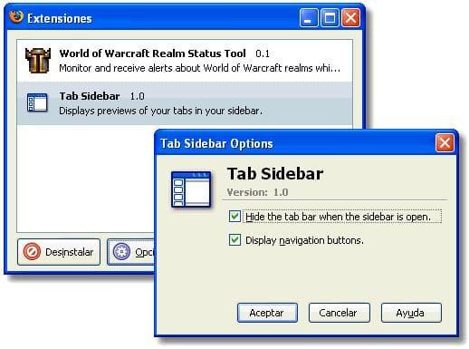 Tab Sidebar Extension