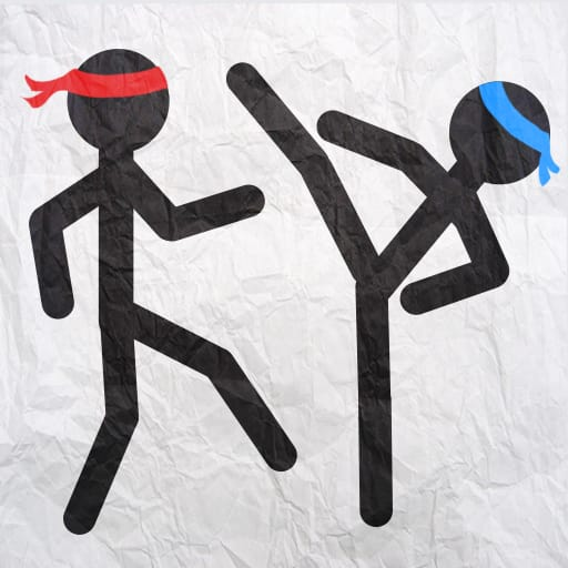 Stickman Fighting Deluxe 1