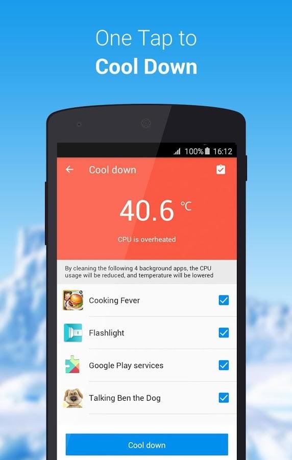 CPU Cooler Master-Phone Cooler