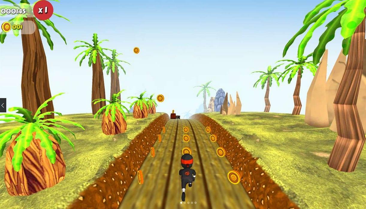 Subway Ninja Runner 3D