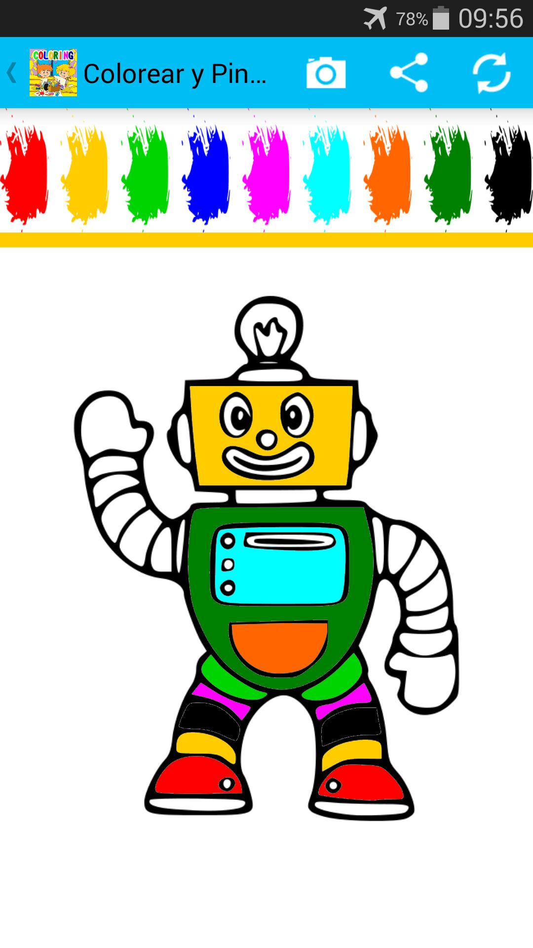 Colorear y Pintar. Para Niños
