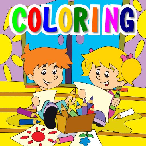 Colorear y Pintar. Para Niños 1.0