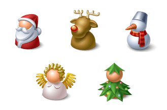 Christmas Buddy Icons