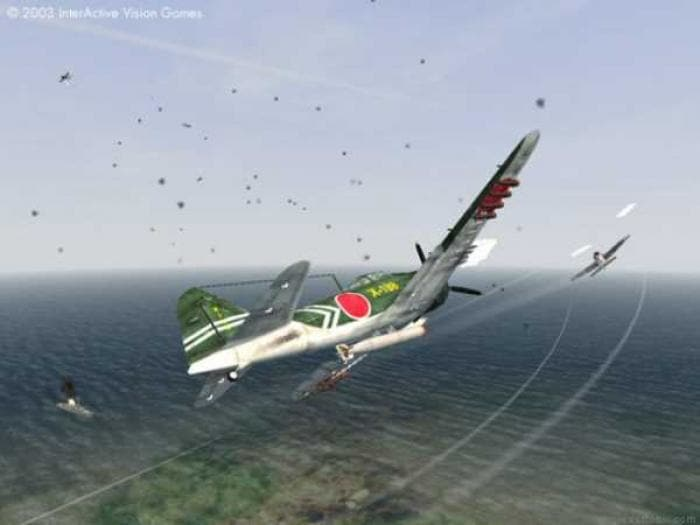 Pacific Warriors II: Dogfight Demo