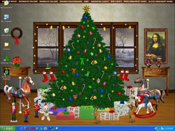 Christmas Tree Interactive Desktop
