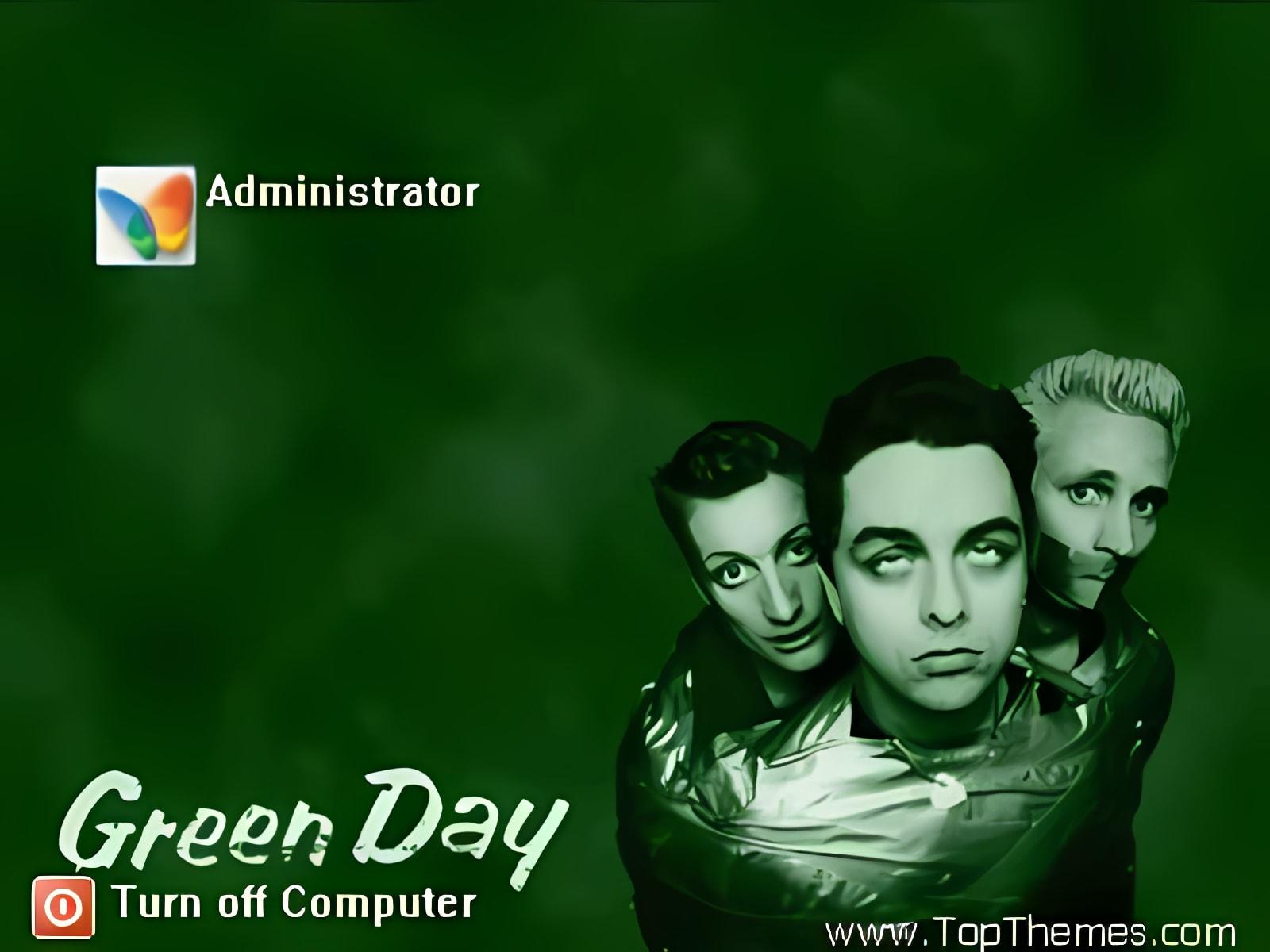 Green Day theme