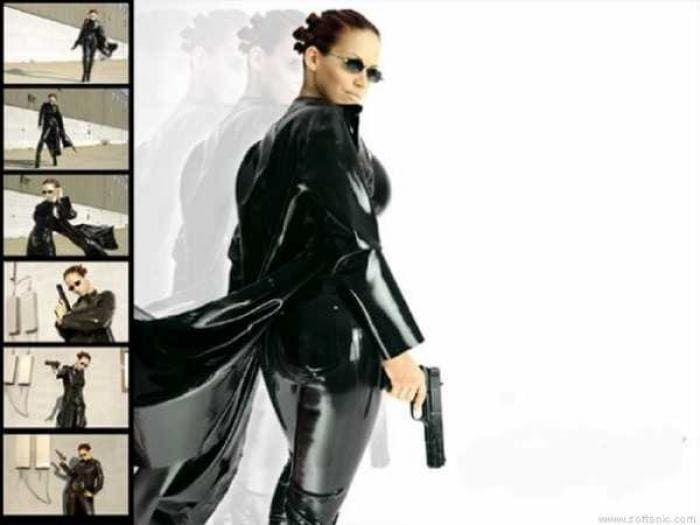 Matrix Revolutions Girl