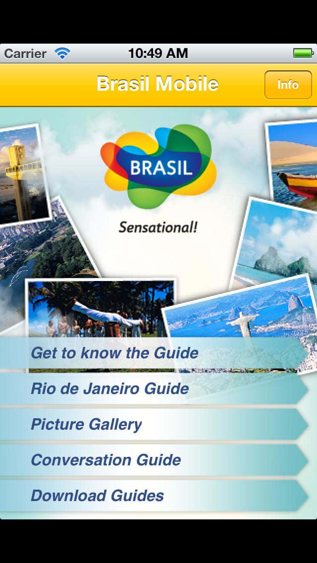 Brasil Mobile - Guia Turístico do Rio de Janeiro