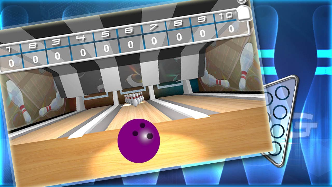 Ten pin bowling Real strike 3D
