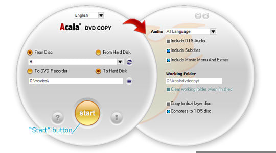 Acala DVD Copy