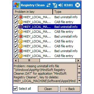 MindSoft Registry Cleaner