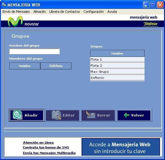 Mensajería Web