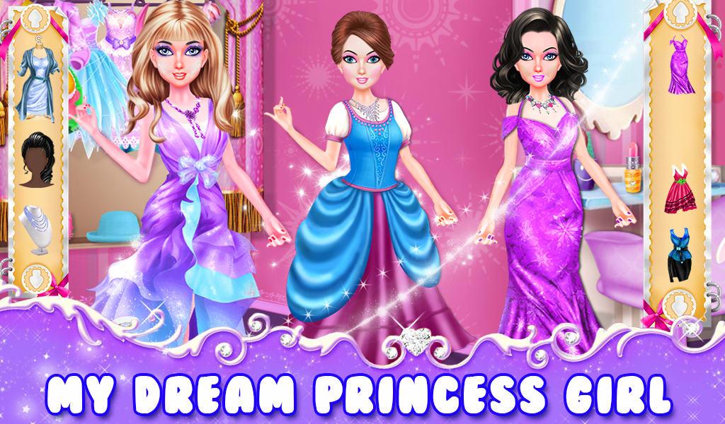 Princess And Friends Makeup