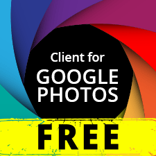 Client for Google Photos Free Varies with device