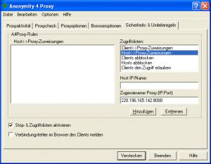 Anonymity 4 Proxy