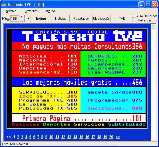 Teletexto RTVE
