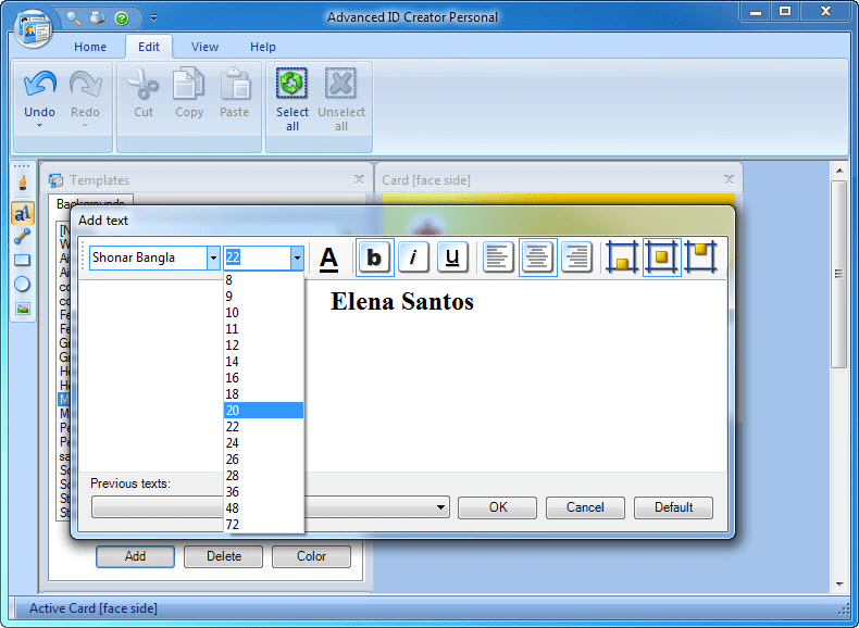 Advanced id creator download authors review stopboris Image collections