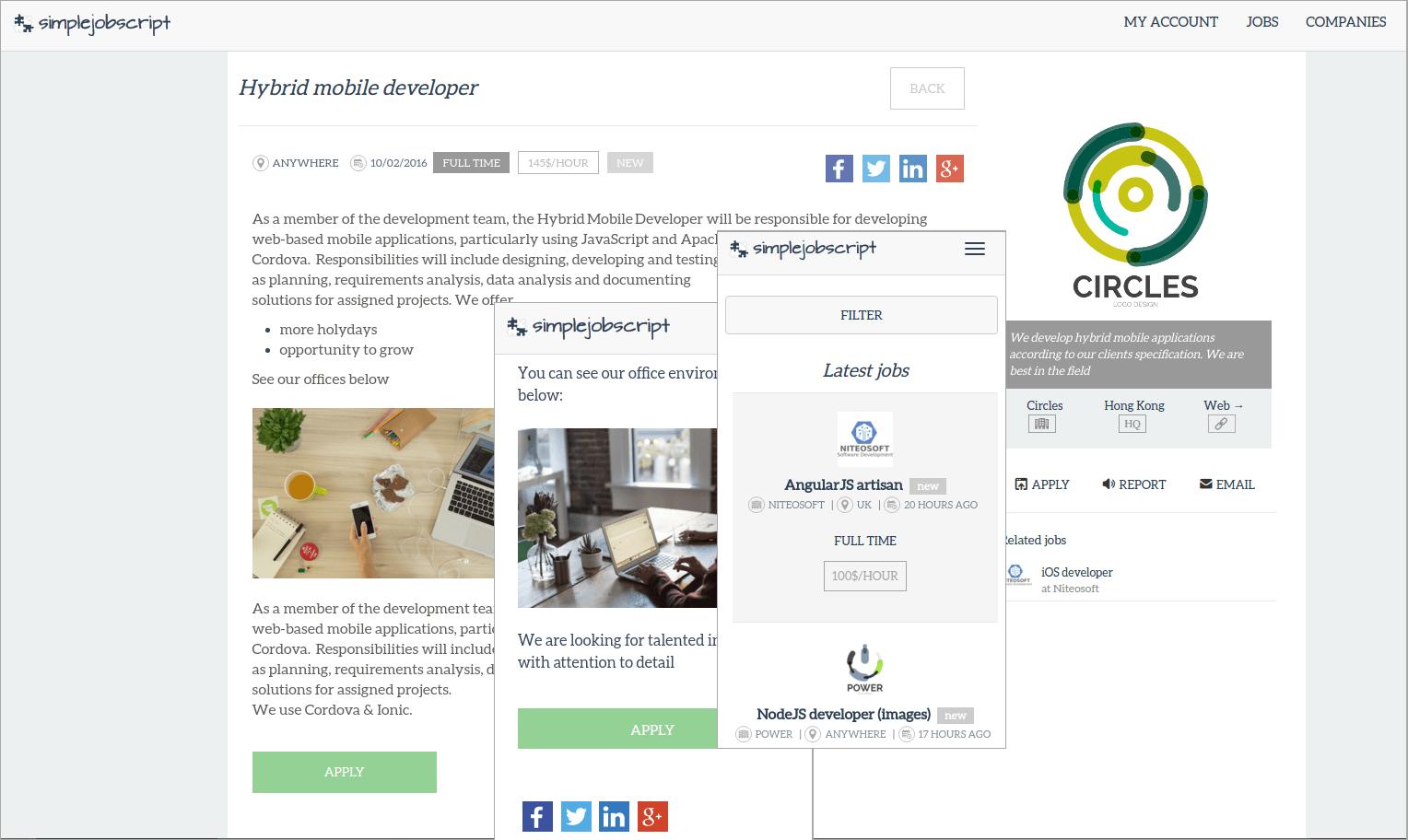 Simplejobscript - free job board software