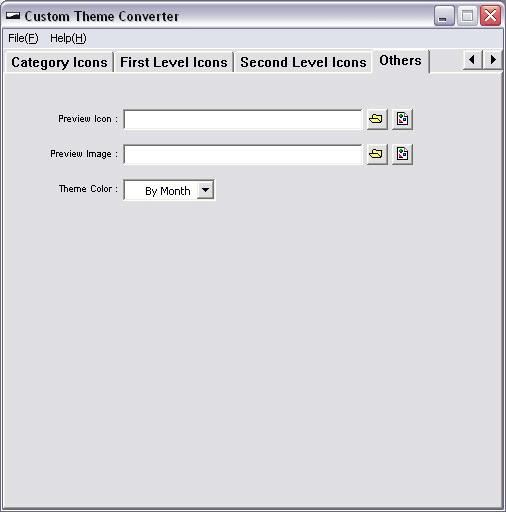 Custom Theme Converter