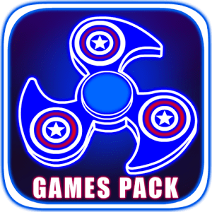 Fidget Spinner Games Pack