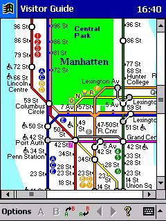 Visitor Guide Subway New York