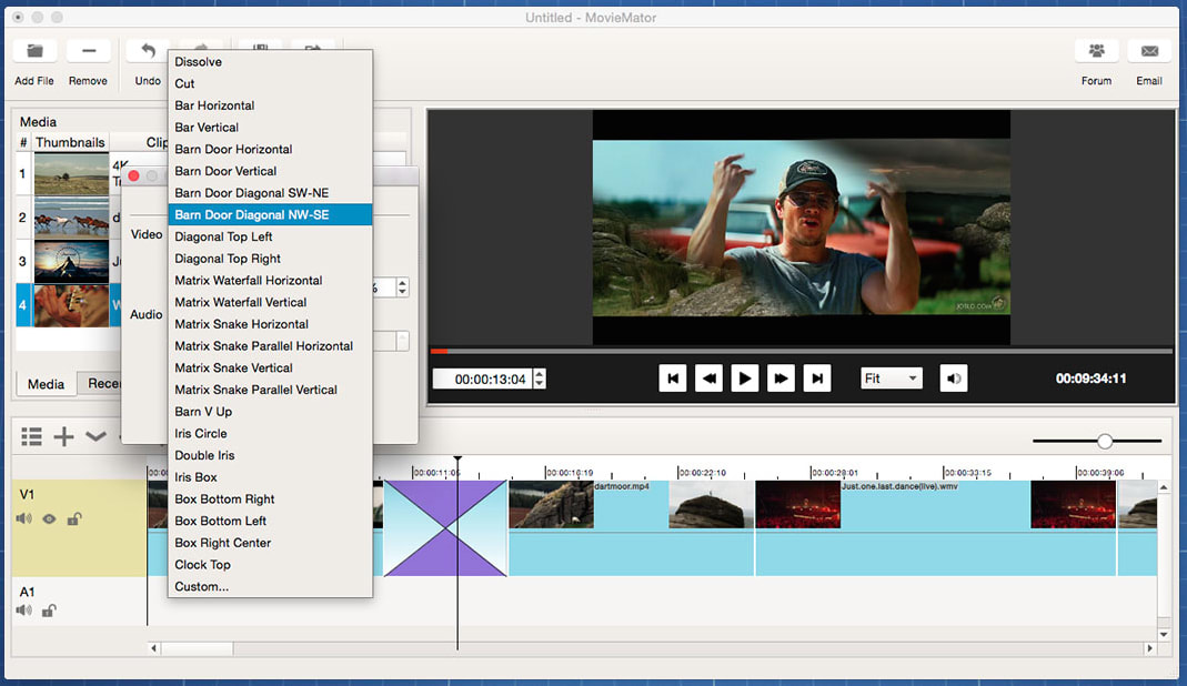 MovieMator Free Mac Video Editor