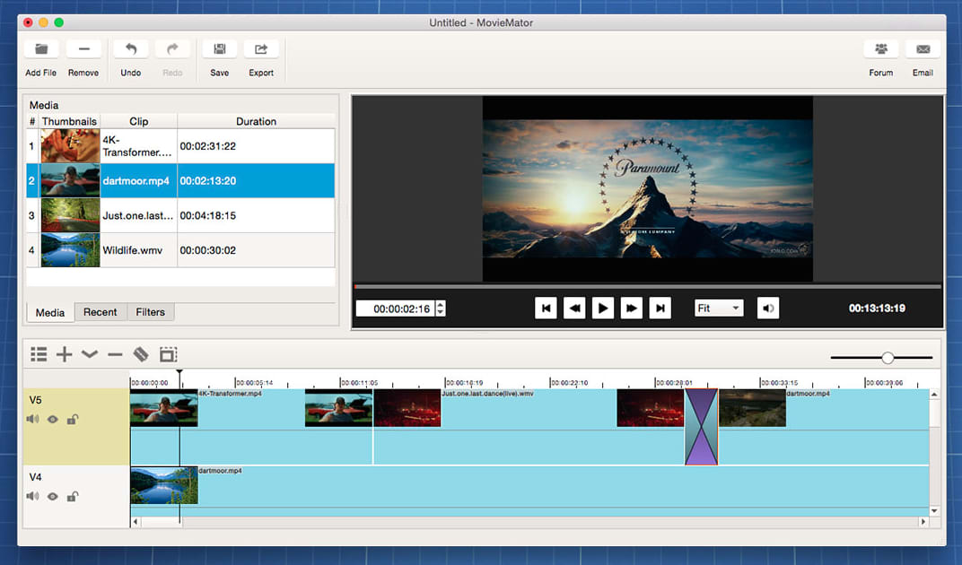 Moviemator free mac video editor mac download authors review ccuart Image collections