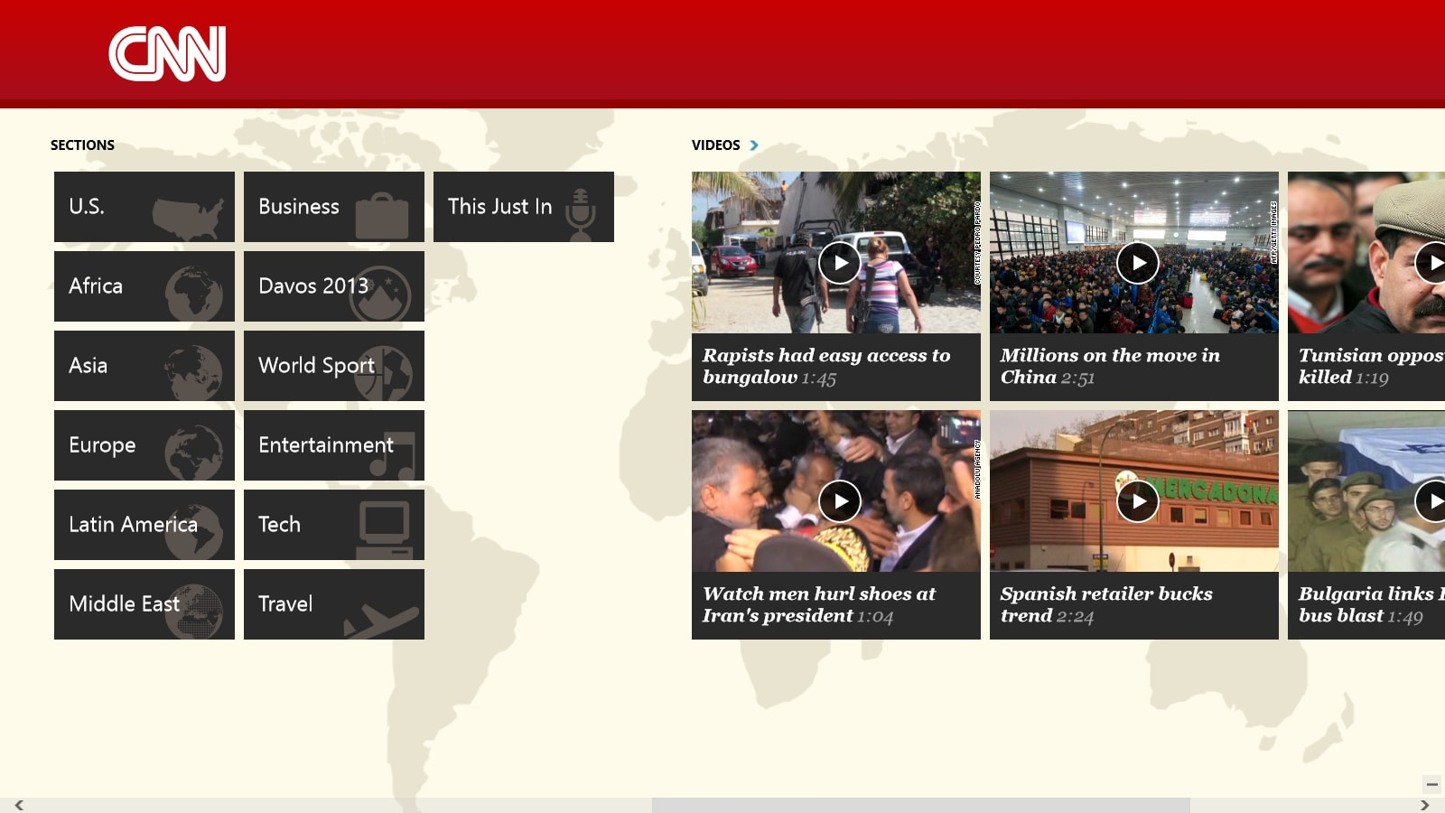 CNN App for Windows 10