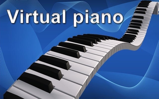 Virtual Piano for Chrome