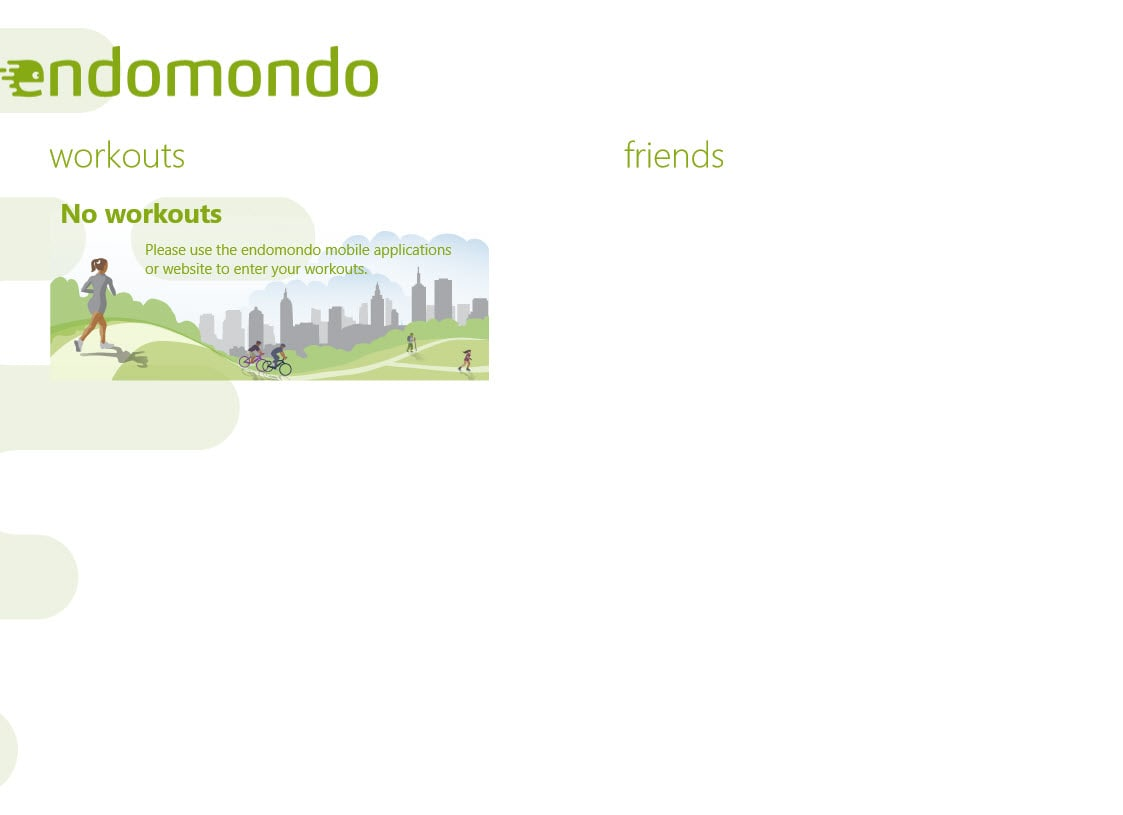 Endomondo per Windows 10